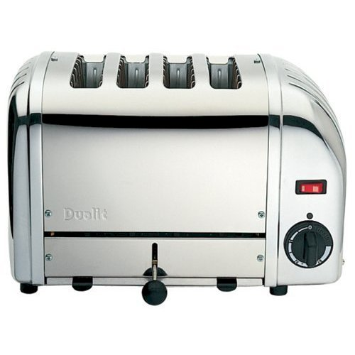 Dualit NewGen 4 Slot Commercial Toaster Stainless Steel