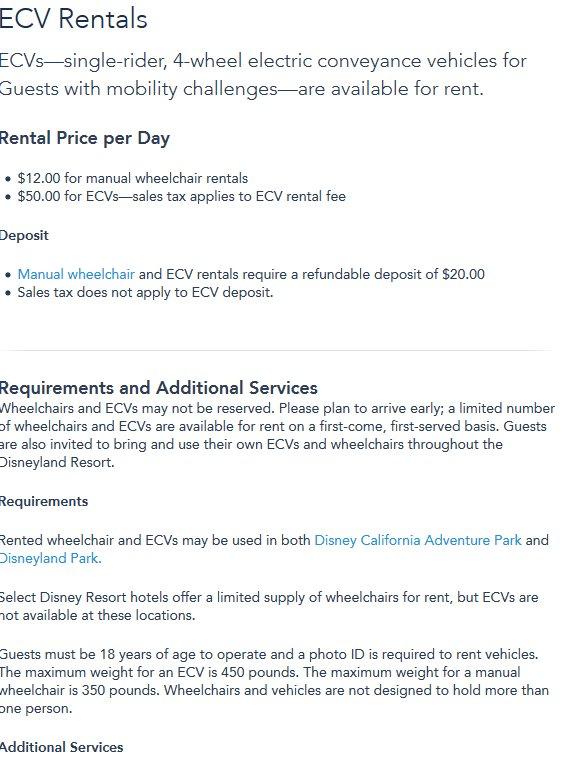 ECV Rentals