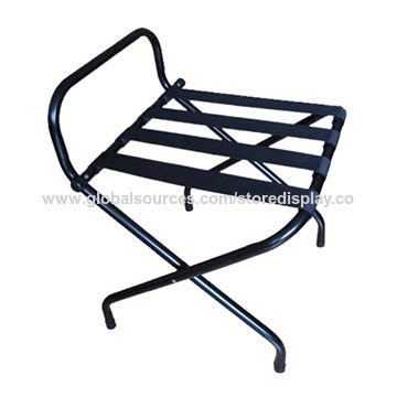 Folding Luggage Rack with Guard