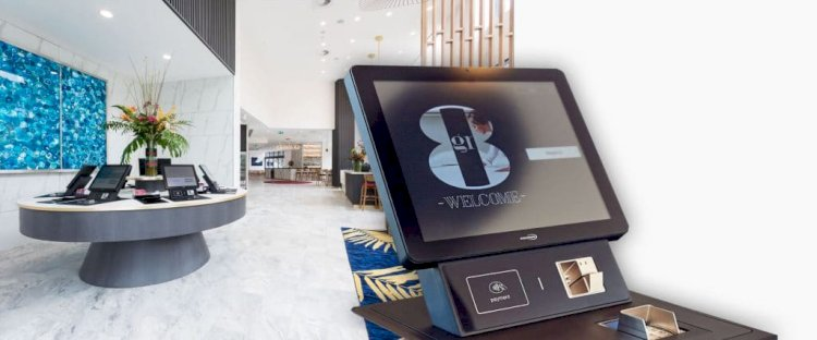 KIOSKS SPEED UP YOUR CHECK-IN PROCESS BY 25%