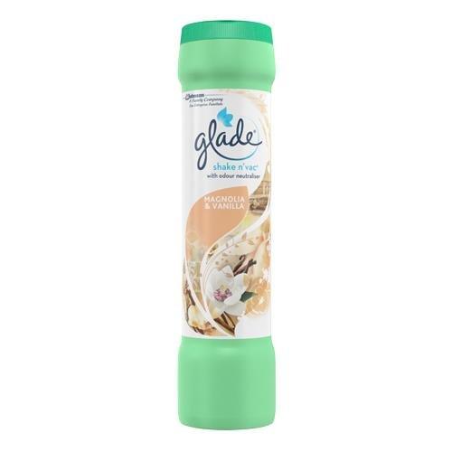 Glade Shake 'n' Vac Magnolia and Vanilla 500gm