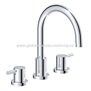 CUPC Certified Bathroom 2pcs Zinc Alloy Handles Lead Free 8