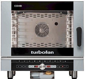 Turbofan Electric Combi Oven 5 Tray 1/1 GN - Digital Control EC40D5