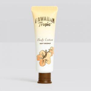 Hawaiian Tropic Flip Cap Tube with Coconut Extract 1.35oz Body Lotion 144/Case
