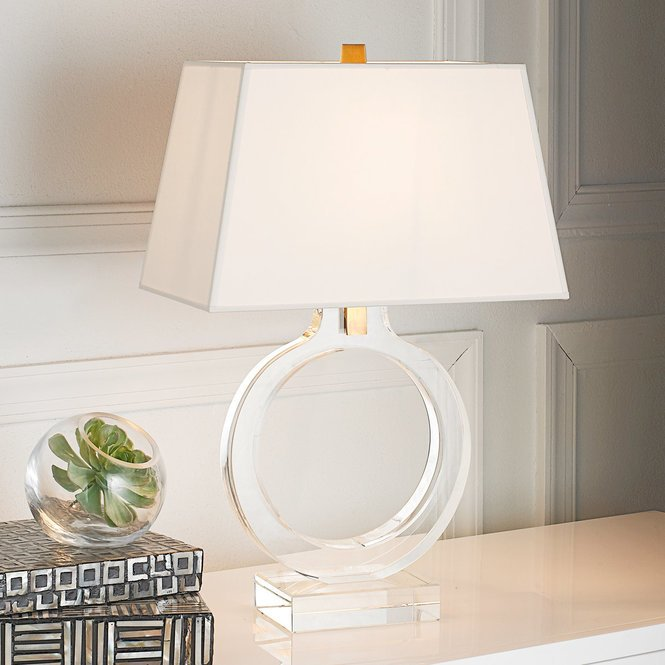 Keyhole Ring Table Lamp
