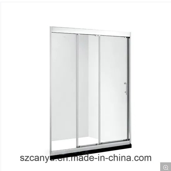 Cy Supplier Cheaper Hotel Bathroom Tempered Glass Shower Partitions