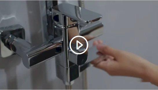 Stainless Steel 304 Shower Set Bathroom Shower for Beach Hotels