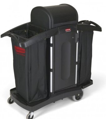 Housekeeping Trolley with locking security