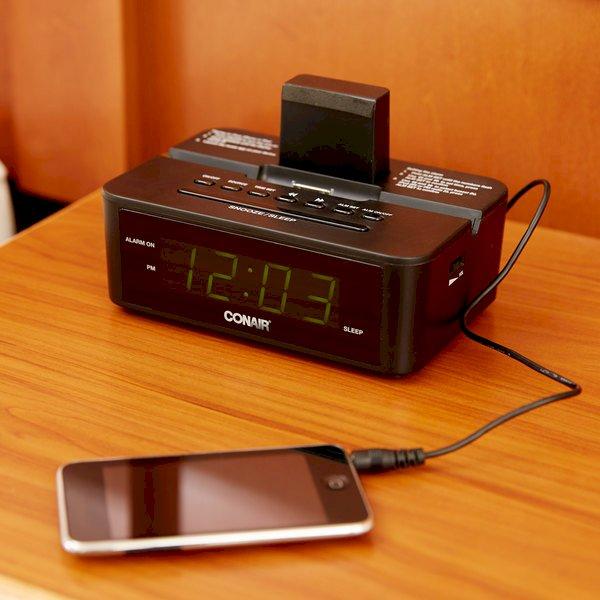 Conair CRD500 Clock Radio with iPod Compatible Dock