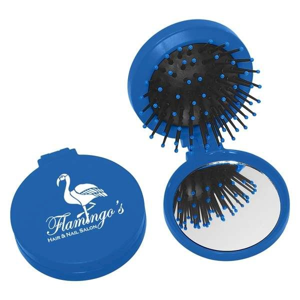 2 in 1 Round Brush/Mirror