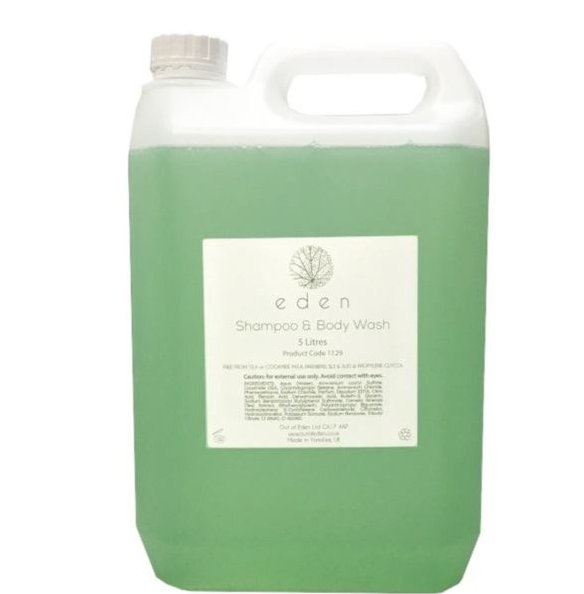 Eden Shampoo and Body Wash 5 litre Refill