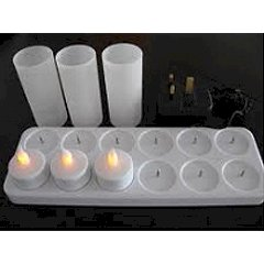 Product Details Rechargeable Candles