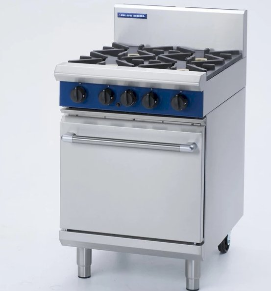 Blue Seal 600mm Gas Range Static Oven