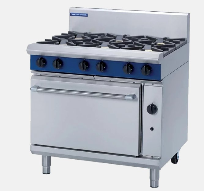 Blue Seal 900mm Gas Range Electric Convection Oven