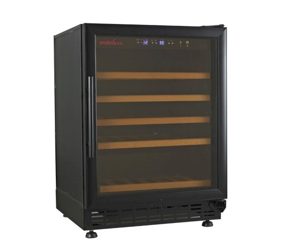 The Endeva 25-50 Wine Bottle Cooler with Glass Doo