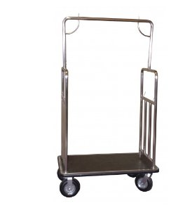 Coastal Classic Series Brushed Stainless Steel Bellman's Cart