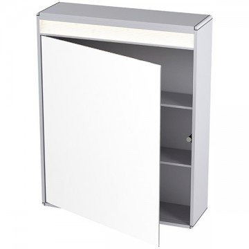 Cabinet with 1 door and LED light 60 x 75cm
