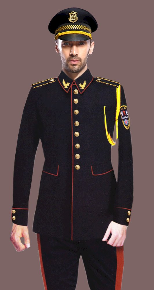 European style hotel concierge uniform/ceremonial uniform