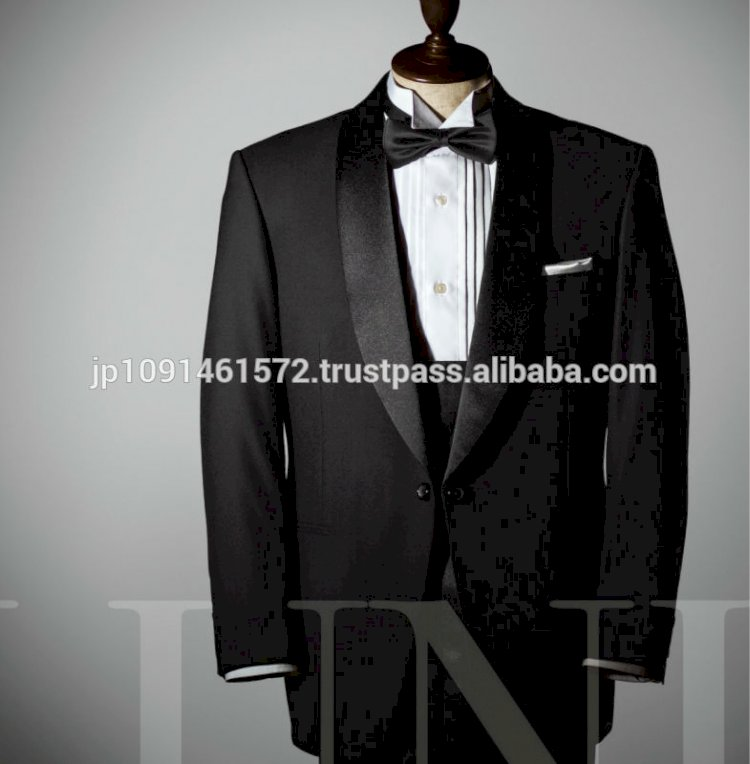 Breathable elegant hotel tuxedo uniforms for concierges