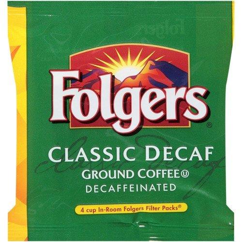 Folgers Decaf 4-Cup Coffee, 0.60 Oz.