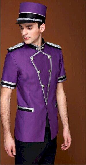Concierge bellboy/doorman hotel uniform