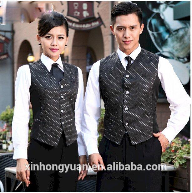 hotel staff receptionist uniforms