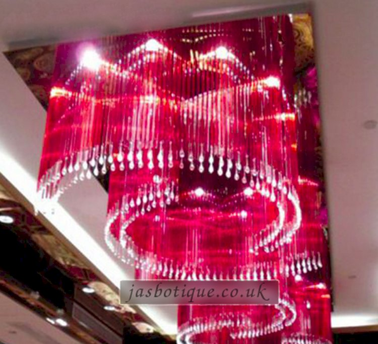 Classic Himalayan Inspired Crystal Hotel Chandelier