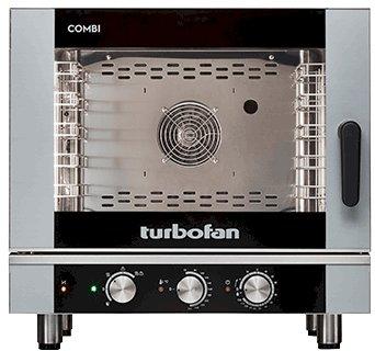Turbofan Electric Combi Oven 5 Tray 1/1 GN - Manual Control EC40M5