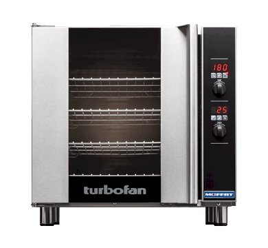Turbofan Convection Oven With Humidity 4 Tray 460 x 660 E32D4