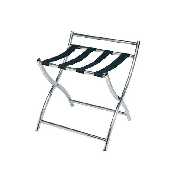 CSL 199SS-BL Luxury Series Stainless Steel Metal Luggage Rack
