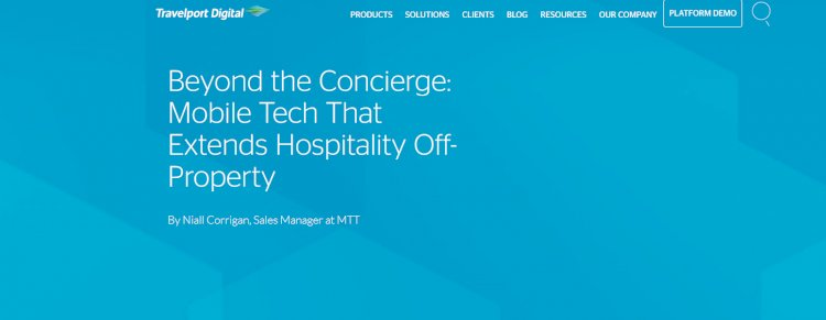 Beyond the Concierge: Mobile Tech That Extends Hospitality Off-Property