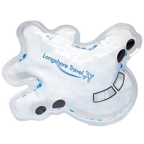 Airplane Aqua Pearls Hot/Cold Pack