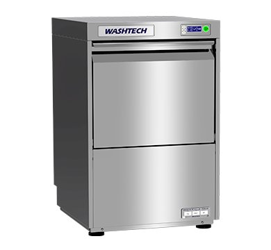 WASHTECH GL GL PREMIUM FULLY INSULATED UNDERCOUNTER GLASSWASHER / DISHWASHER ? 450mm RACKW 535mm x D 560mm x H 835mm