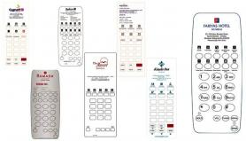 Custom Faceplates exclusively for Bittel Hotel Phones.