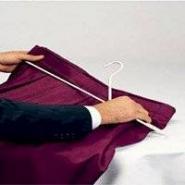 Snap-Drape Skirtmate Hanger, White