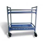 Aluminium Serving & Clearing Trolleys