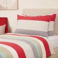 Essentials Skye Bedding Set Red