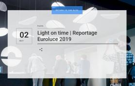Light on time | Reportage Euroluce 2019