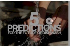 5 Prediction For The Future Of Dishwash