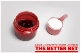 Liquid Detergent vs Powder Detergent the Better Bet