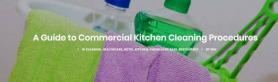 A Guide to Commercial Kitchen Cleaning Procedures