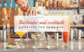 Bartender and cocktails, better attention behind the bar.