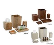 Paradigm Trends Ahala Natural Wood Tissue Box Cover