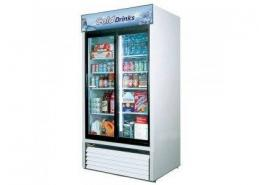 2 SWING GLASS DOOR MERCHANDISER REFRIGERATOR