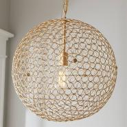 Circles Sphere Pendant Light - Large
