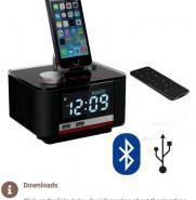 Homtime B11 Pro Hotel Alarm Clock Radio