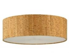 Cork Drum Shade 16