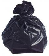 Black Plastic Refuse Sack Catering Strength