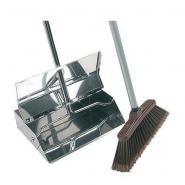 Lobby S/S Dustpan & Brush Set H36 Silver