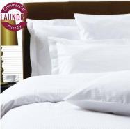 300 Thread Count Pure Cotton Micro Stripe Bed Linen